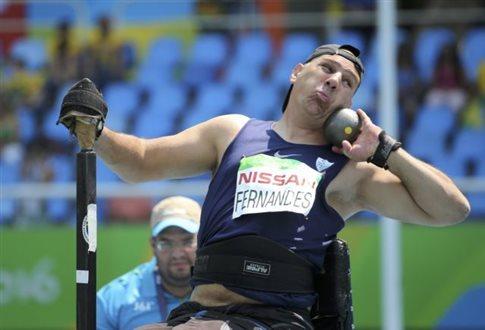 Χρυσό μετάλλιο για τον Σεν Τζον Φερνάντες στησφαιροβολία