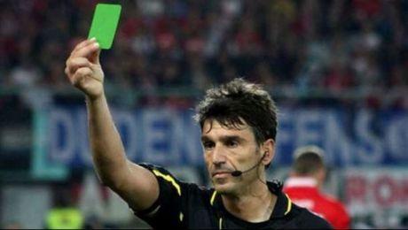 Στην Ιταλία οι διαιτητές δείχνουν και ΠΡΑΣΙΝΗκάρτα