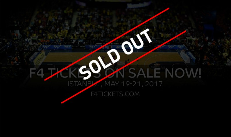 Sold out τα εισιτήρια για το ΦάιναλΦορ!