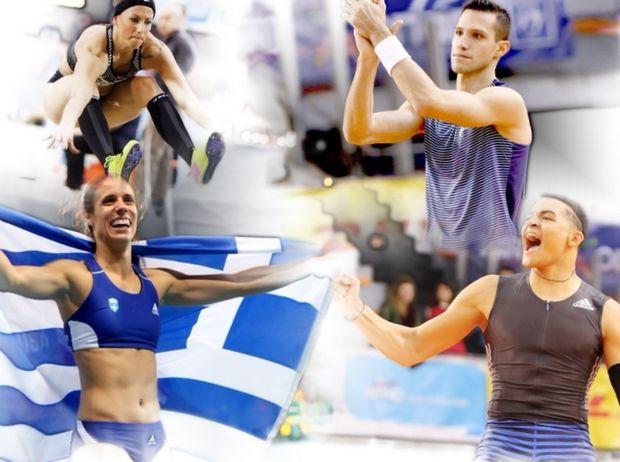 Η ελληνική ομάδα για το Ευρωπαϊκό Πρωτάθλημα κλειστούστίβου